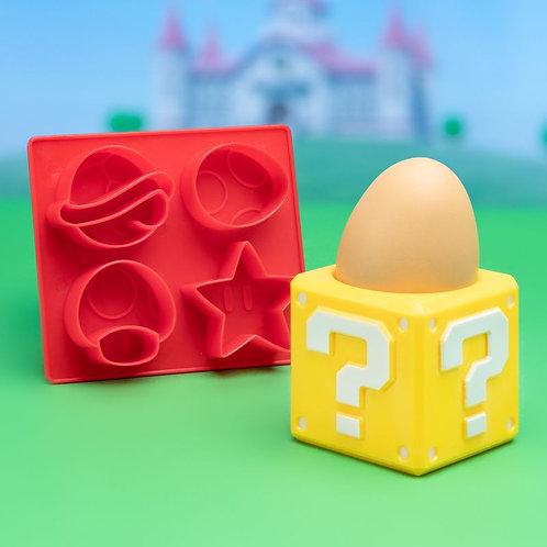 Super Mario Egg Cup & Toast Cutter