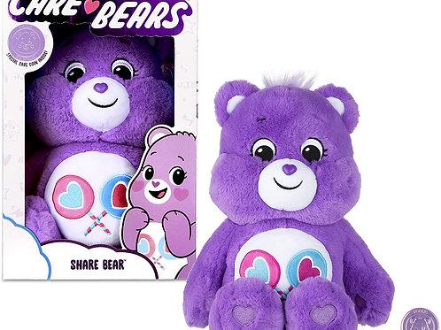 Care Bears Share Bear Soft Toy