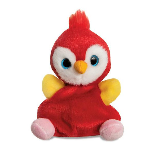 Lora Scarlet Macaw Parrot Soft Toy