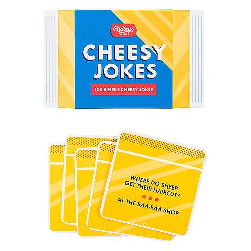 Ridley's 100 Cheesy Novelty Jokes