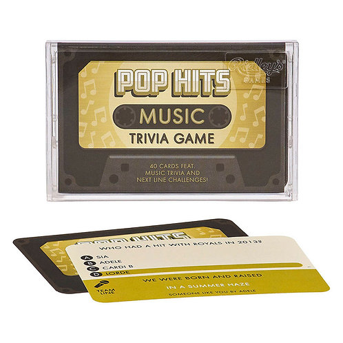 Ridley's Games Pop Greatest Hits Trivia Tape Quiz