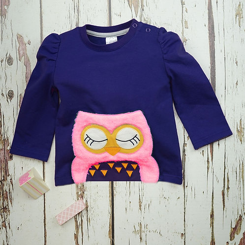 Betty Owl Blade and Rose Baby Top