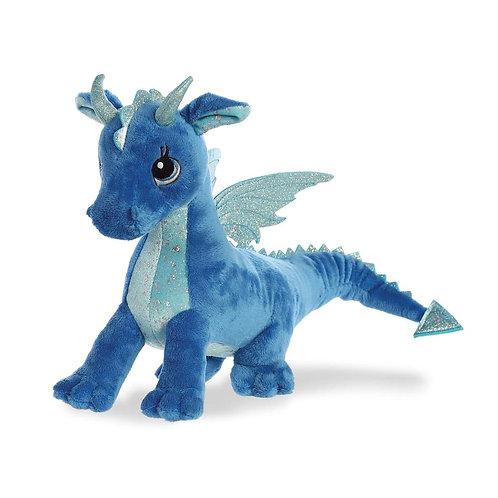 Sparkle Tales Indigo Dragon Soft Toy