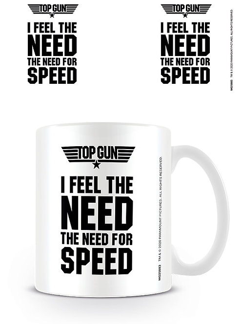 Top Gun I Feel The Need For Speed Mug