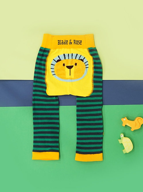 Frankie The Lion Blade and Rose Baby Leggings