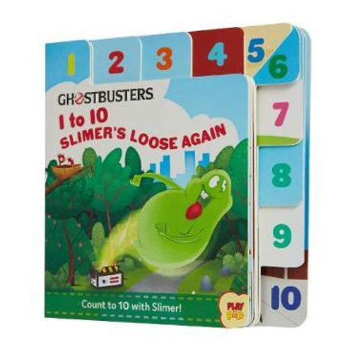 Ghostbusters 1 to 10 Counting Book