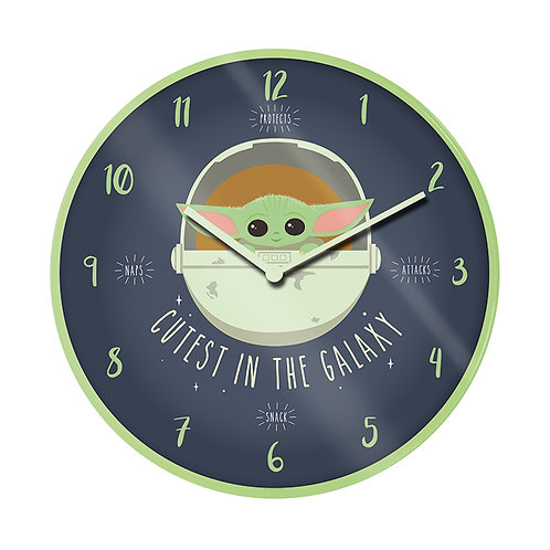 "Star Wars Mandalorian ""The Child"" Wall Clock"