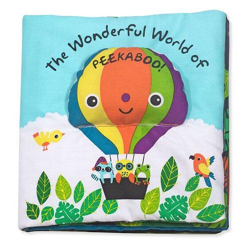 Melissa & Doug Wonderful World Of Peekaboo Fabric Book