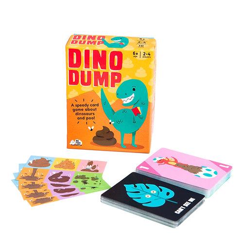 Big Potato Dino Dump Card Game
