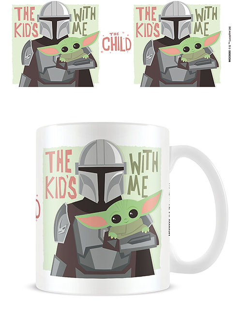 The Mandalorian 'The Kids With Me' Mug