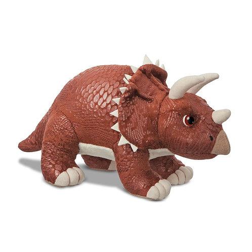 Dinosaur Roar Triceratops Soft Toy