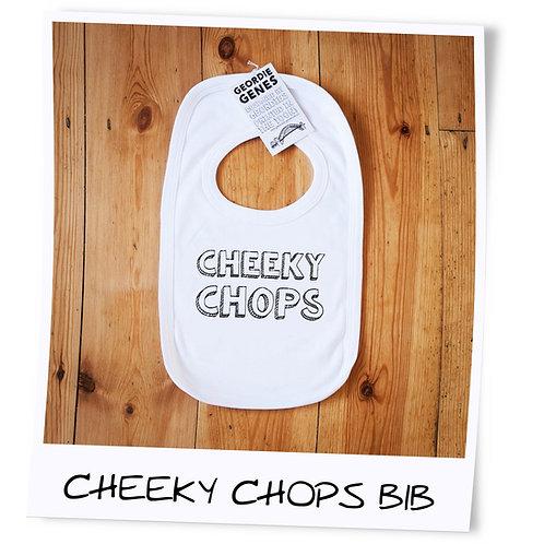 Cheeky Chops Geordie Baby Bib