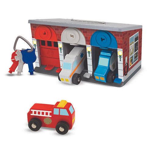 Melissa & Doug Key & Cars Rescue Garage