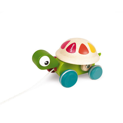 Janod Pull Along Turtle