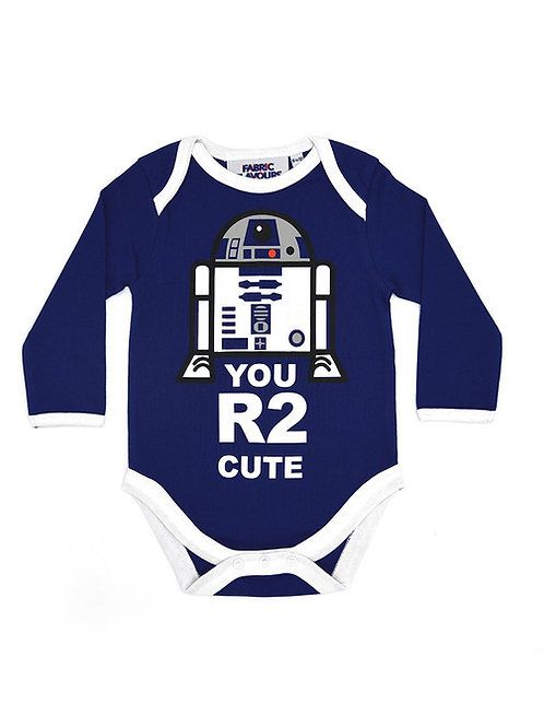 Fabric Flavours Star Wars R2D2 Baby Vest
