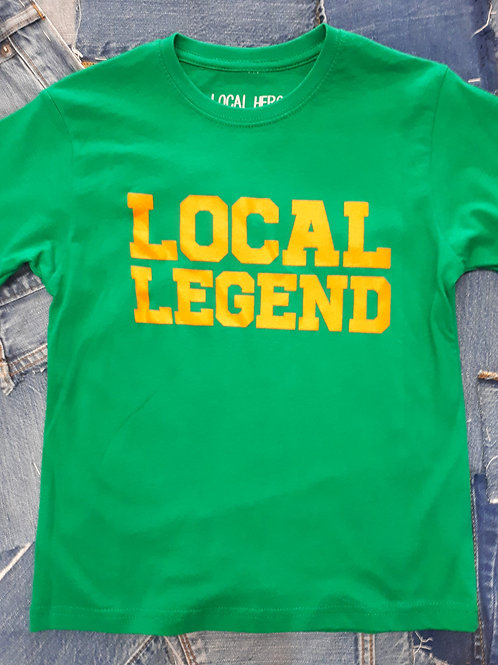 Local Hero Local Legend Kids Tee