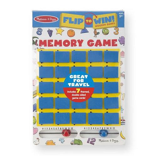 Melissa & Doug Flip To Win Memory Game