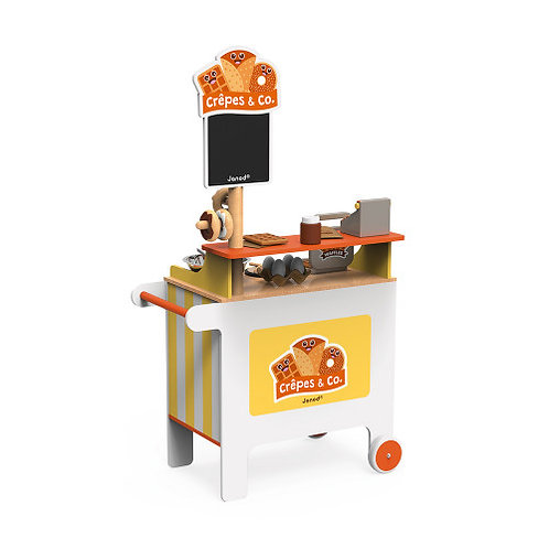 Wooden Crepes & Co Waffle House Play Set
