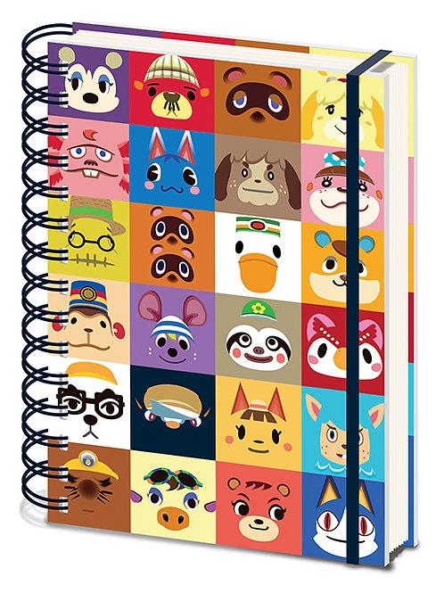 Animal Crossing Villagers Notebook