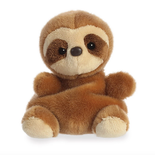 Palm Pals, Slomo Sloth 5in Soft Toy