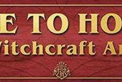 Harry Potter Hogwarts Sign
