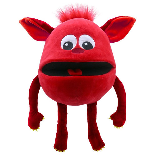 Baby Monster Red Hand Puppet