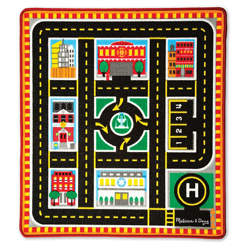 Melissa & Doug City Rescue Play Mat