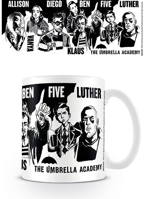 Umbrella Academy Sketch Mug