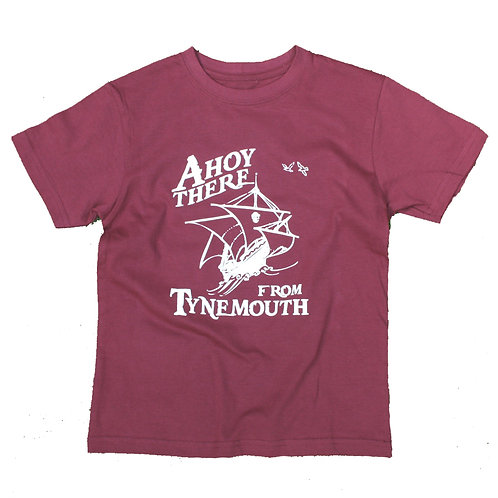 Local Hero  Ahoy There From Tynemouth Kids Tee