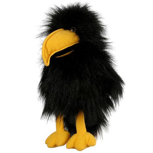 Baby Bird Crow Hand Puppet