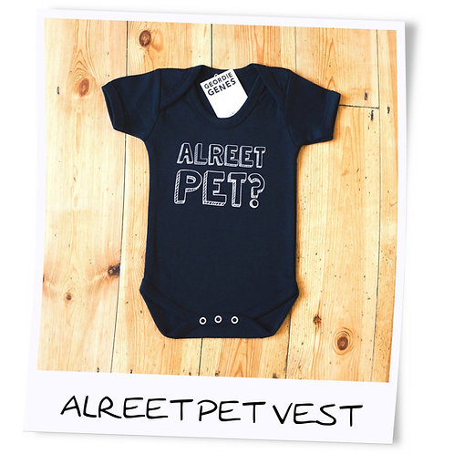 Geordie Baby Alreet Pet Vest