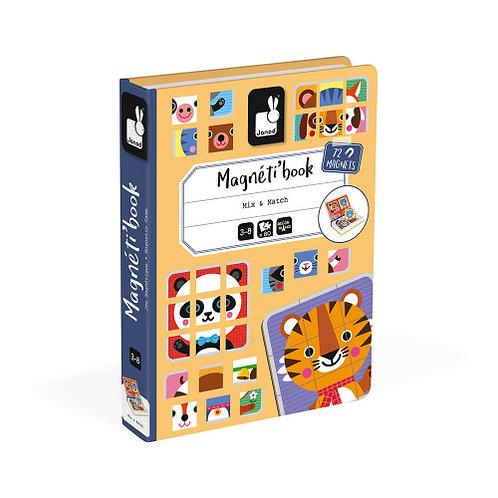 Mix & Match Animal Magneti'book
