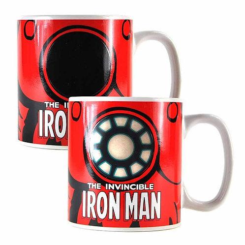 Marvel Heat Changing Iron Man Mug