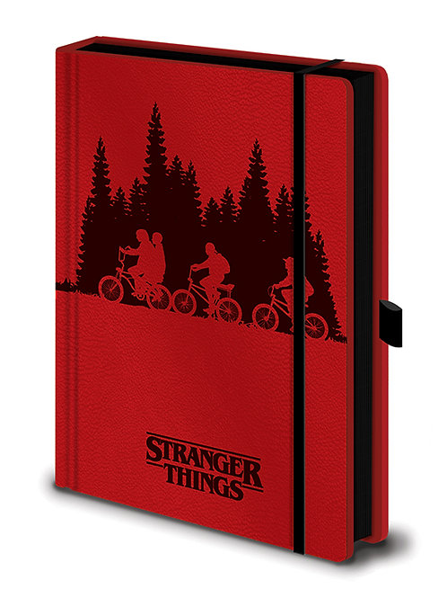 Stranger Things Upside Down Premium A5 Notebook