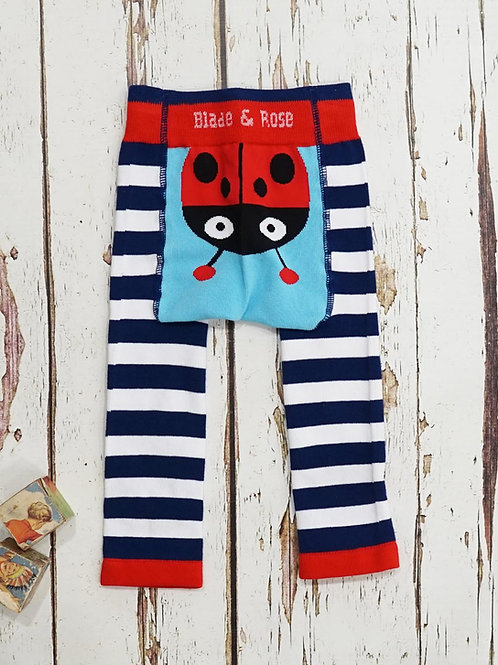 Ladybird Blade and Rose Baby Leggings