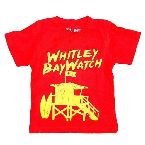 Local Hero Whitley Bay Watch Kids Tee