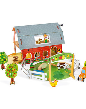 Janod Wooden Story Animal Farm Set