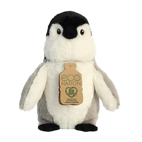Eco Nation Penguin Soft Toy