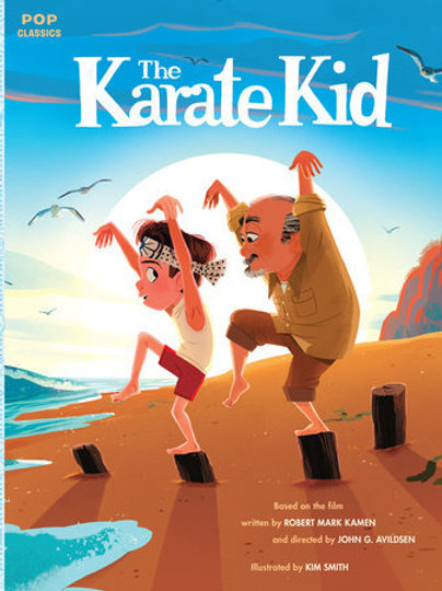 The Karate Kid Classic Illustrated Story Book