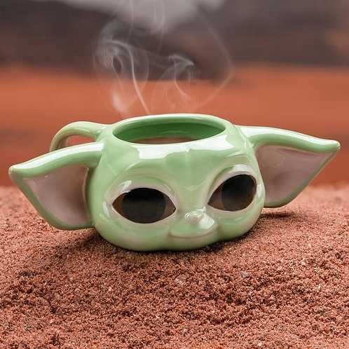 "Star Wars Mandalorian ""The Child"" Shaped Mug"
