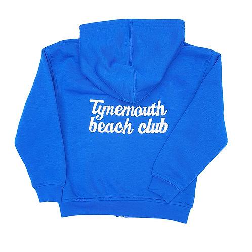 Tynemouth Beach Club Kids Hoody (Royal Blue)