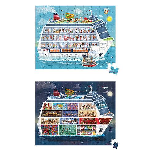 Janod Cruise Ship Puzzles