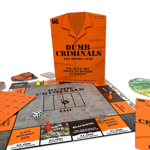 Dumb Criminals Board Game