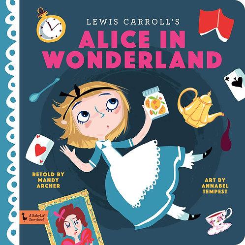 Alice in Wonderland: A BabyLit Storybook Hardcover
