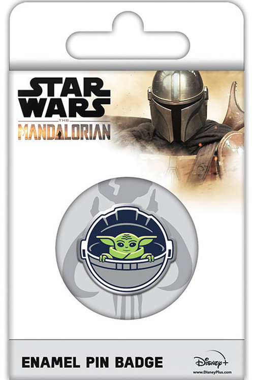 Mandalorian The Child Pin Badge