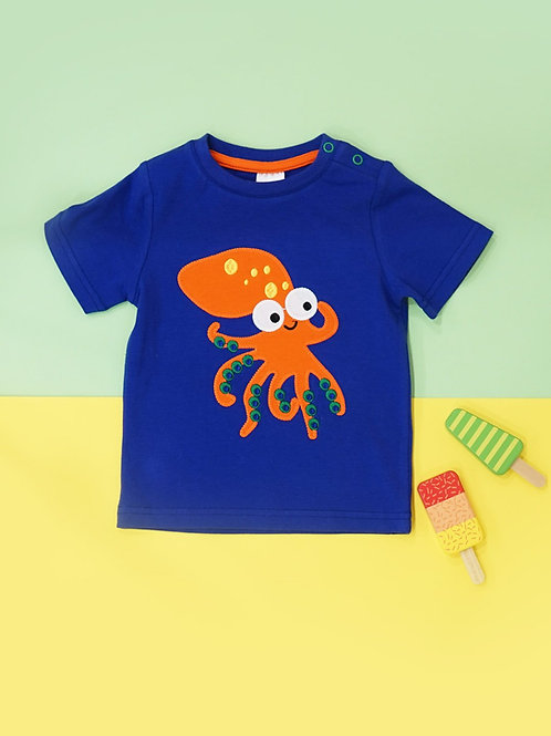 Charlie The Squid Blade and Rose Baby Tee