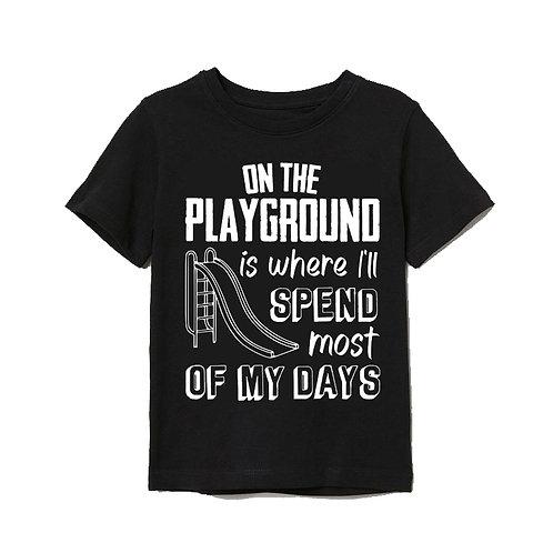 Local Hero On The Playground Baby Tee
