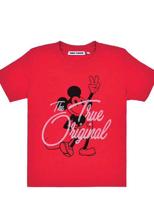 Fabric Flavours Mickey Mouse True Original Tee