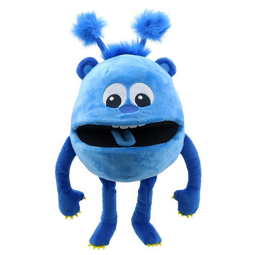 Baby Monster Blue Hand Puppet