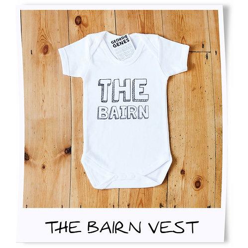 The Bairn Geordie Baby Vest
